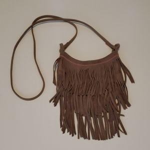 American Eagle Mini Fringe Cross Body Bag